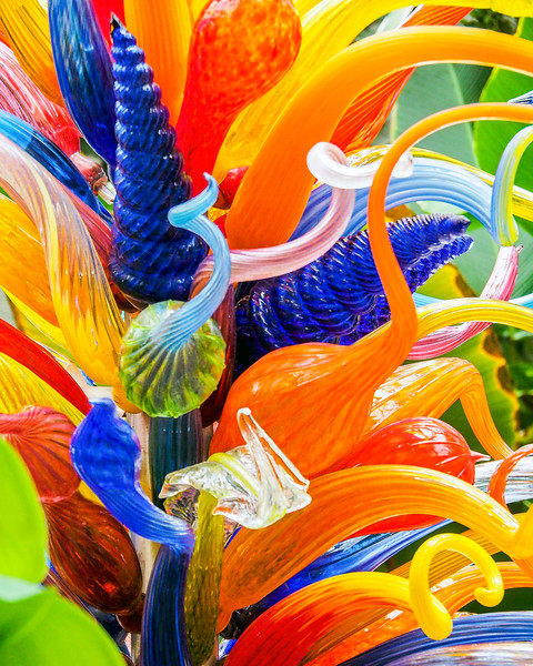 End of the Day Tower - Chihuly