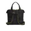 Ibiza Rocks X Knomo; Freddie Backpack Back Shot with Straps 42-101-BLK