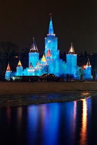 1992 St. Paul Winter Carnival Ice Castle---IC-7024