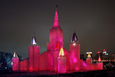 1992 Winter Carnival Ice Castle---IC-7006
