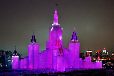 1992 Winter Carnival Ice Castle---IC-7003