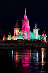1992 St. Paul Winter Carnival Ice Castle---IC-7027