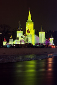 1992 St. Paul Winter Carnival Ice Castle---IC-7025