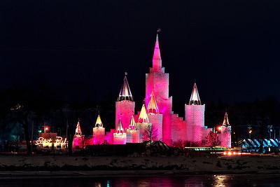 1992 St. Paul Winter Carnival Ice Castle---IC-7029