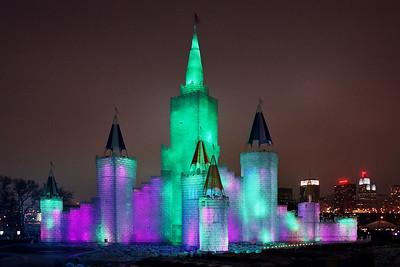 1992 Winter Carnival Ice Castle---IC-7004