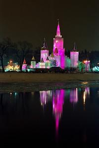 1992 St. Paul Winter Carnival Ice Castle---IC-7020