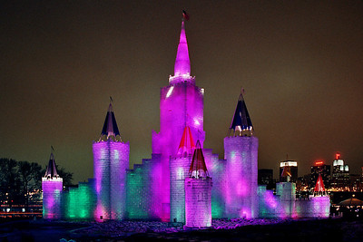 1992 Winter Carnival Ice Castle---IC-7008