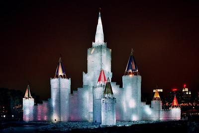 1992 Winter Carnival Ice Castle---IC-7005