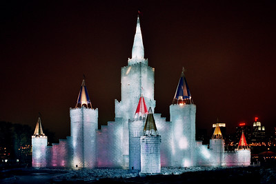 1992 Winter Carnival Ice Castle---IC-7005