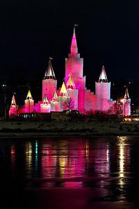 1992 St. Paul Winter Carnival Ice Castle---IC-7026