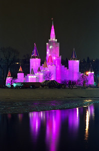 1992 St. Paul Winter Carnival Ice Castle---IC-7022