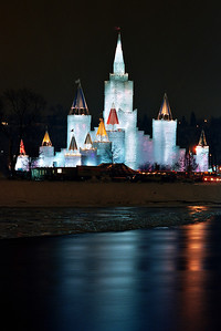 1992 St. Paul Winter Carnival Ice Castle---IC-7023