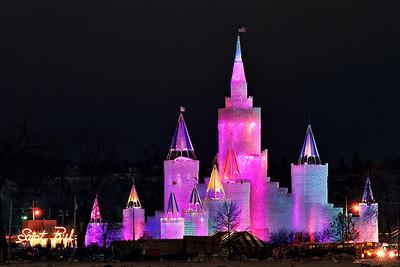 1992 St. Paul Winter Carnival Ice Castle---IC-7032