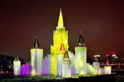 1992 Winter Carnival Ice Castle---IC-7007