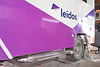 Leidos ice cream truck painting and restoration work at Hardcore Hot Rods Auto Painting & Restoration in Sterling, VA.