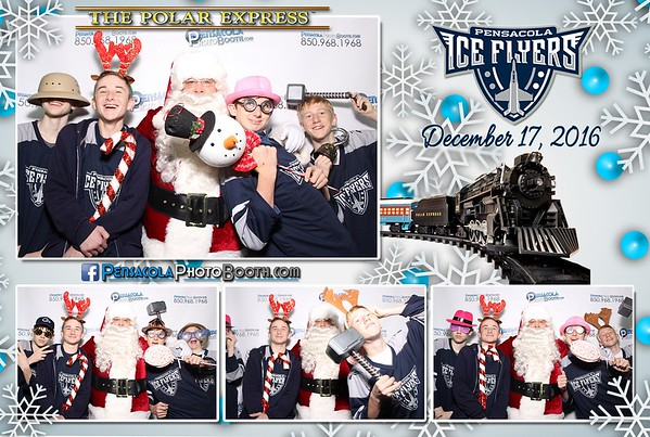 Ice Flyers - Polar Express Day - 12-17-2016