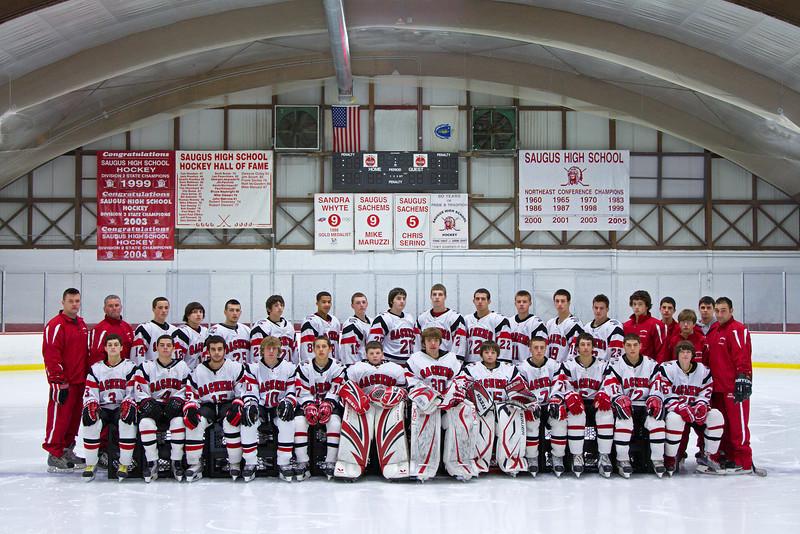 2010-2011 Saugus High Team Photo