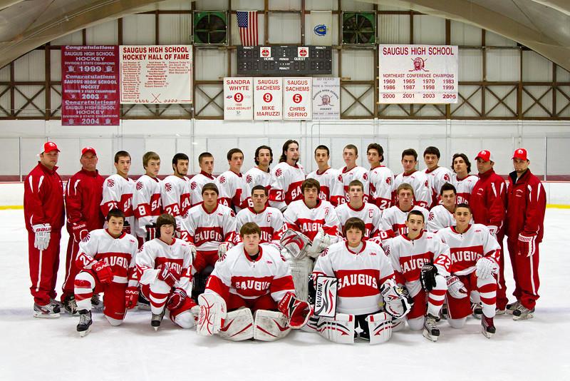 2011-2012 Saugus High Team Photo-12-12-11
