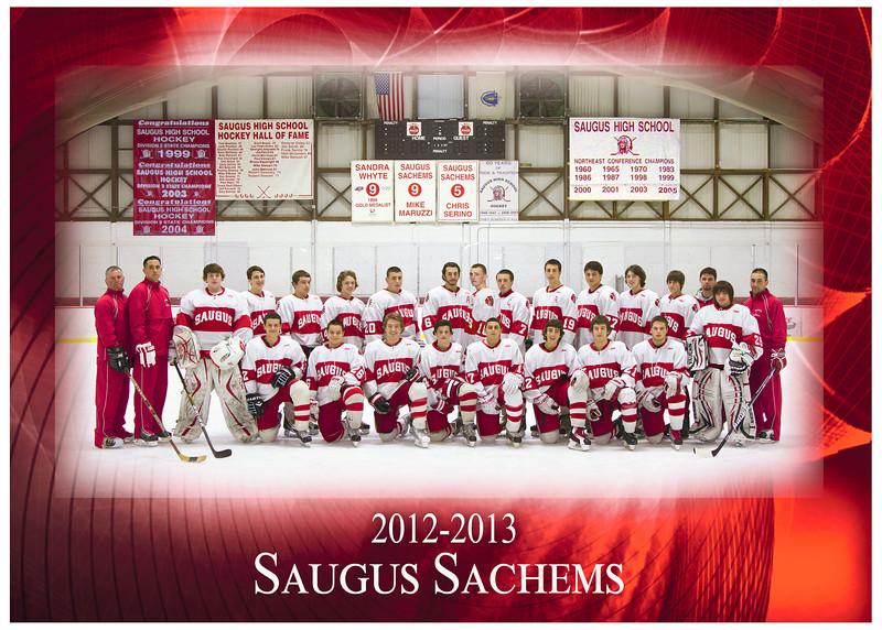 2012-2013 Sachems Team 5x7