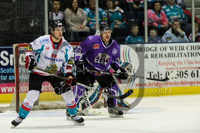 Braehead Clan 2 Belfast Giants 6