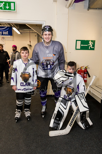 "Braehead Clan defeat Manchester Storm 2-1 at Braehead Arena, in EIHL League action on 20 January 2017, Picture: Al Goold ( <a href=""http://www.algooldphoto.com"">http://www.algooldphoto.com</a>)"