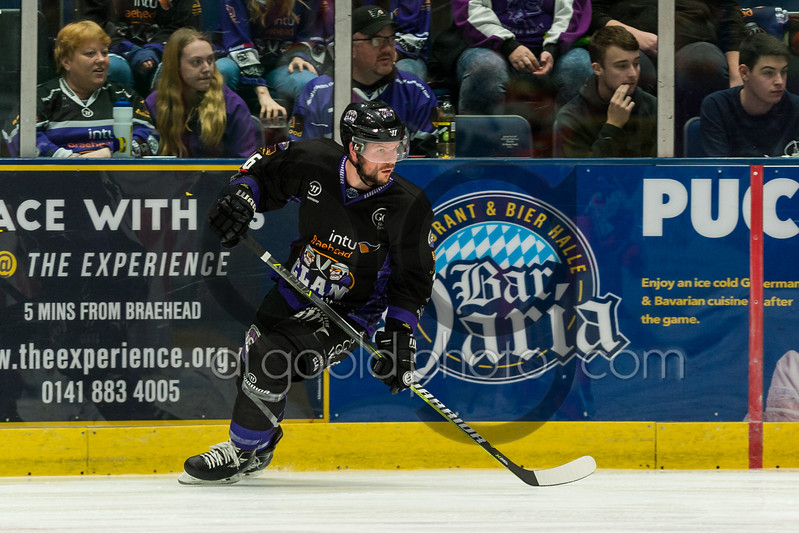 """Braehead Clan fall to a 2-3 defeat (in overtime) by the Sheffield Steelers in Challenge Cup action on   ,27 October , Picture: Al Goold ( <a href=""""http://www.algooldphoto.com"""">http://www.algooldphoto.com</a>)"""