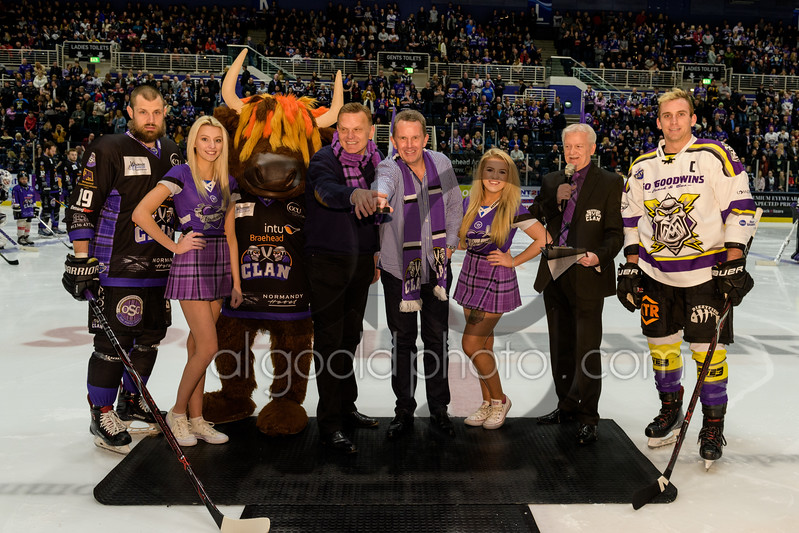 "EIHL League action from Braehead Clan v Manchester Storm at Braehead Arena on on   ,13 January , Picture: Al Goold ( <a href=""http://www.algooldphoto.com"">http://www.algooldphoto.com</a>)"