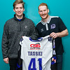 """Glasgow Clan players and sponsors visit The Experience on 10 December , Picture: Al Goold ( <a href=""""http://www.algooldphoto.com"""">http://www.algooldphoto.com</a>)"""