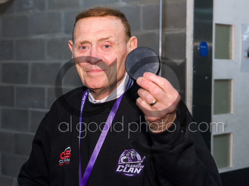 "German visitors the Dresden Eislowen defeat the Glasgow Clan 1-5 in the second  friendly challenge match of the season at Braehead Arena <br /> on   ,19 August , Picture: Al Goold ( <a href=""http://www.algooldphoto.com"">http://www.algooldphoto.com</a>)"