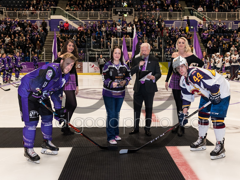 """Glasgow Clan defeated 0-3 by the Guildford Flames at Braehead Arena on  ,24 November 2018, Picture: Al Goold ( <a href=""""http://www.algooldphoto.com"""">http://www.algooldphoto.com</a>)"""