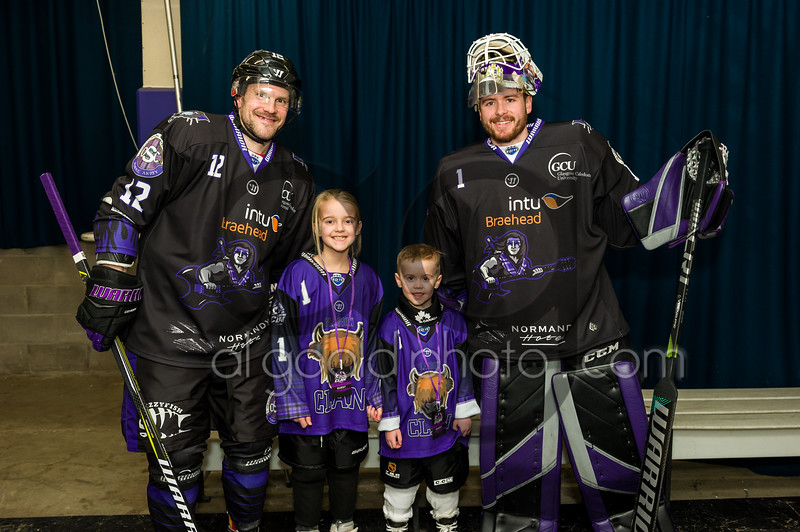 """Glasgow Clan defeat Nottingham Panthers 4-1 in their #rocktherink night  on 19 January , Picture: Al Goold ( <a href=""""http://www.algooldphoto.com"""">http://www.algooldphoto.com</a>)"""