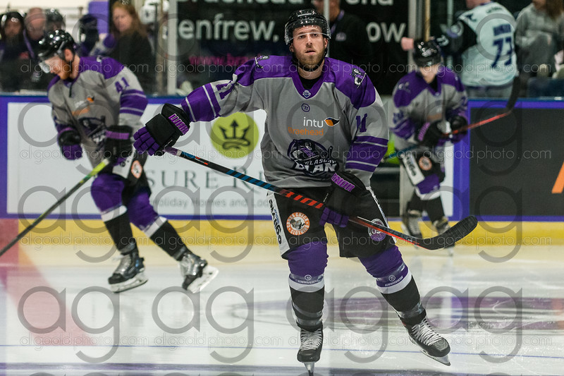 "Glasgow Clan defeated 3-6 by Dundee Stars in their opening home match of the season, in the EIHL Challenge Cup at Braehead Arena on 31 August , Picture: Al Goold ( <a href=""http://www.algooldphoto.com"">http://www.algooldphoto.com</a>)"