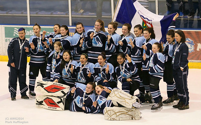 Northwest Territories defeats Yukon, placing third in Girls Junior Hockey at AWG2014