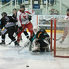"""Paisley Pirates defeat the Moray Typhoons 12-1 (13-3 on aggregate) in the 2nd """"home"""" leg of the play off quarter finals and progress to the POFW. The game was played at Dundee Ice Arena due to ice plant problems at Braehead. on 1 April , Picture: Al Goold ( <a href=""""http://www.algooldphoto.com"""">http://www.algooldphoto.com</a>)"""