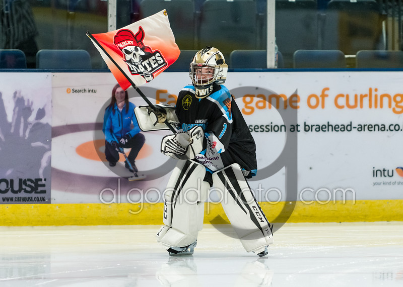 """Paisley Pirates defeat the Dundee Tigers 5-2 at Braehead Arena on  ,4 November 2018, Picture: Al Goold ( <a href=""""http://www.algooldphoto.com"""">http://www.algooldphoto.com</a>)"""