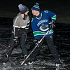 """Pond hockey near Bishopton on  ,3 January 2021, Picture: Al Goold ( <a href=""""http://www.algooldphoto.com"""">http://www.algooldphoto.com</a>)"""