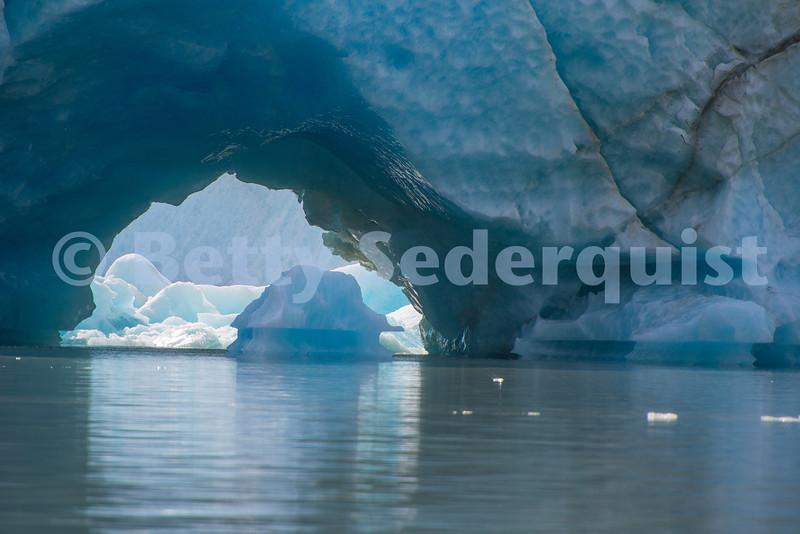 Ice Tunnel, Stikine Lake