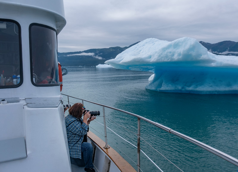 Photographing Icebergs