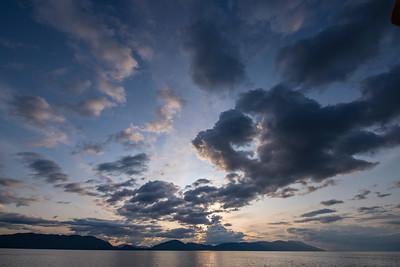 Sunset, Stephens Passage