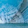 Contrasting Iceberg Textures, Endicott Arm