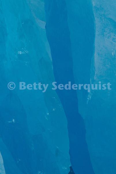 Inside Reid Glacier