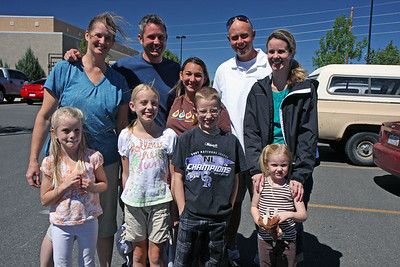 On the way back to reality, we stopped off in Grand Junction to see my sister, John and the kids. Was great to see everyone and have some good food at Red Robin before getting back on I70 for the long drive back to Boulder.