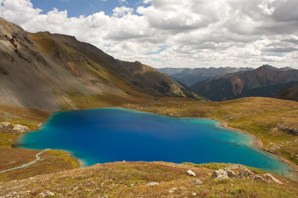 A full view of Upper Ice Lake