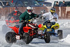 Sturbridge Ice Races 2/18/2018<br /> The warm temperatures today made it very comfortable for the riders and spectators alike but the ice deteriorated rapidly. The feature races ended up being a series of slush-fests with lots of standing water on the track and given the forecast for this week, this may very well be the last of this year's races.