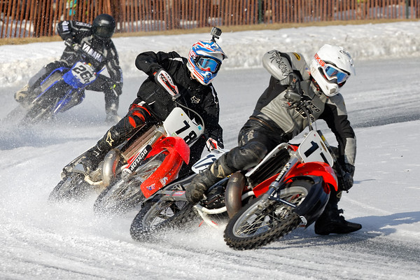 The first session of the 2018 Sturbridge Ice Races was held on January 21, 2018 with warm temperatures under fair skies, plenty of good ice and very enthusiastic riders.<br /> Sturbridge Ice Races 1/21/2018