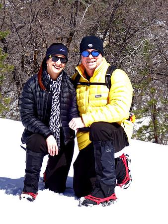Ice Storm and Snowshoe Hike Keller Peak, March 4, 2018