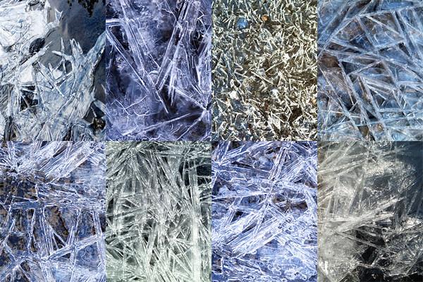 Frozen Collage #1: Crystals