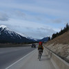 Hooning along the Trans Canada to the backdrop of the Canadian Rockies (and the sweet sounds of trucks roaring past)