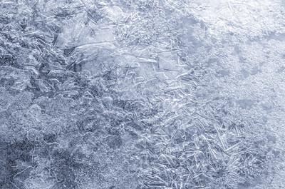 Ice on Minnehaha Creek