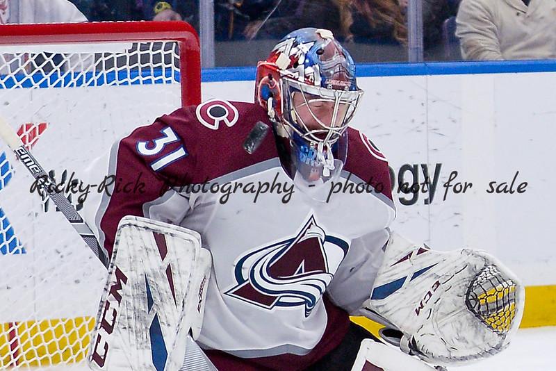 NHL 2019: Avalanche vs Blues Apr 01